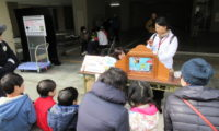 12月9日(日) 中京区総合防災訓練で災害ボランティアセンターの紹介をしました