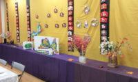 竹間学区社会福祉協議会「作品展」にお邪魔しました。(令和元年11月15日)