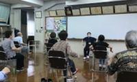 乾学区社会福祉協議会「健康体操」が再開しました。(7/4)