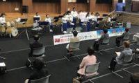 明倫学区敬老行事「敬老の日お祝い特別演奏」が開催されました!(令和2年10月11日)